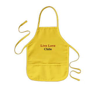 Live Love Chile Aprons