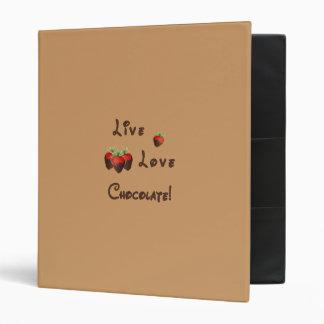 Live Love Chocolate Binders