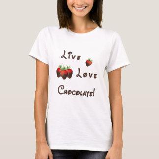 Live Love Chocolate T-Shirt