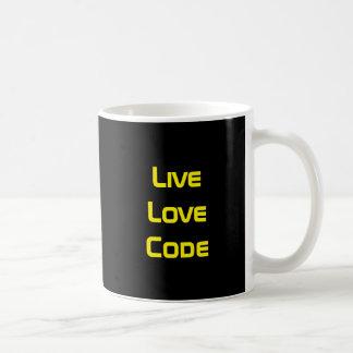 Live Love Code Coffee Mug