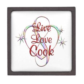 Live Love Cook Jewelry Box