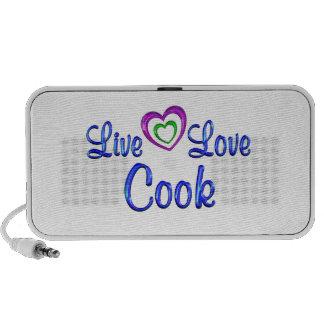Live Love Cook Travelling Speaker