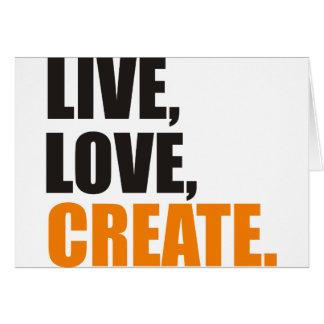 live love create card