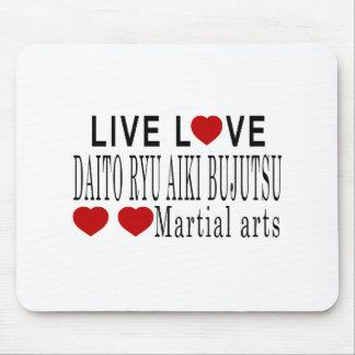 LIVE LOVE DAITO RYU AIKI BUJUTSU MARTIAL ARTS MOUSE PAD