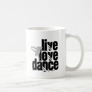 Live, Love, Dance Coffee Mug
