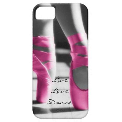 Live Love Dance iPhone 5 Cases : Zazzle