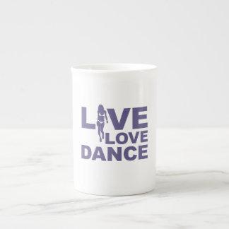 Live Love Dance Tea Cup