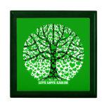 live love earth keepsake box