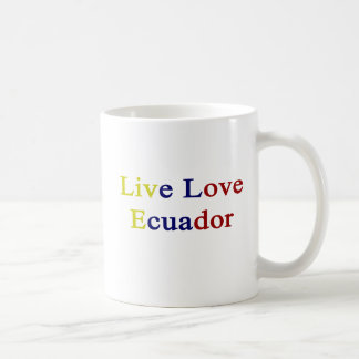 Live Love Ecuador Coffee Mug