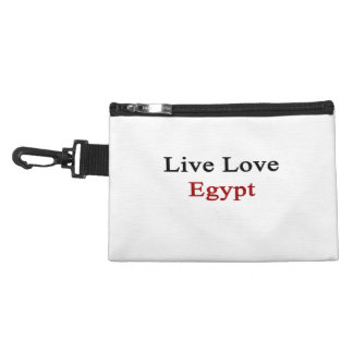 Live Love Egypt Accessory Bag
