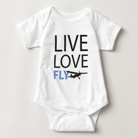 Live Love Fly Baby Bodysuit