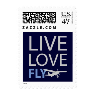Live Love Fly Postage