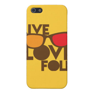 Live LOVE FOLK music Case For iPhone SE/5/5s