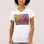 LIVE LOVE GROW Daisy Painting T Shirts