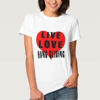 Live Love Hang Gliding T-shirts