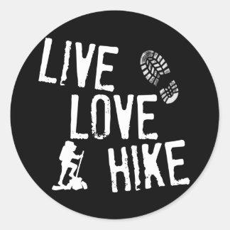 Live Love Hike Sticker