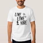 Live, Love, Hike T-shirt
