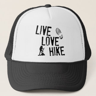 Live, Love, Hike Trucker Hat