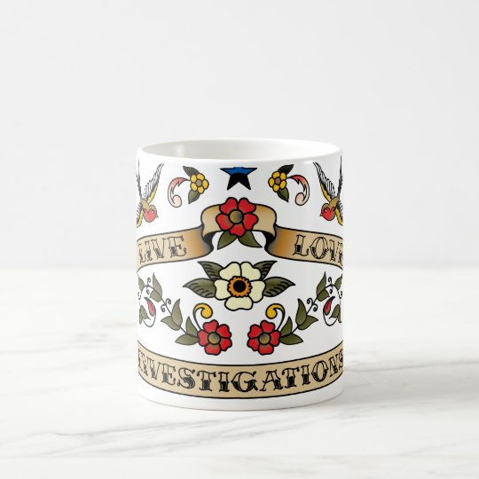 Live Love Investigations Coffee Mug