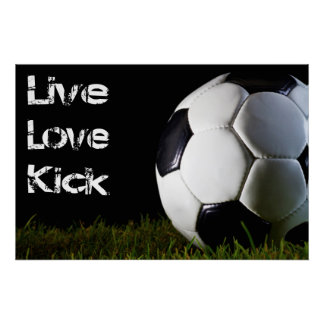 Live, Love, Kick Poster
