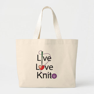 Live Love Knit Bag
