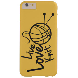 Live Love Knit | Knitting Barely There iPhone 6 Plus Case