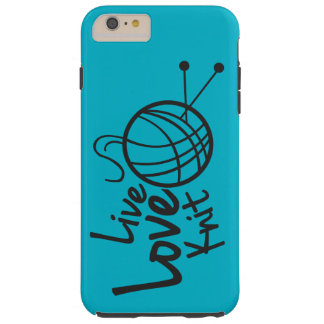Live Love Knit | Knitting Tough iPhone 6 Plus Case