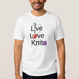Live Love Knit T-shirt