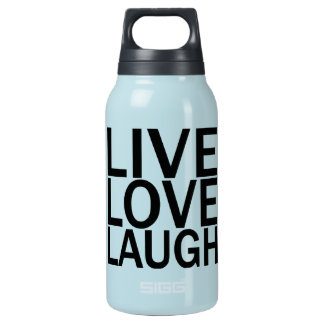 Live Love Laugh 32 oz. Insulated Water Bottle