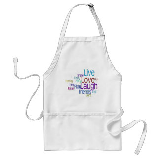 Live Love Laugh Adult Apron