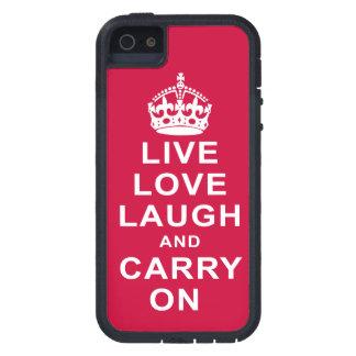 Live Love Laugh and Carry On iPhone SE/5/5s Case