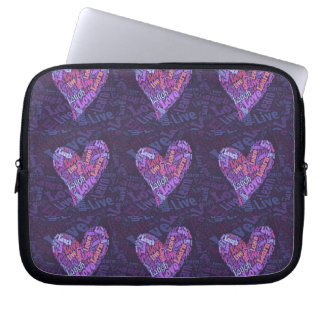 Live, Love, Laugh and Learn Laptop Sleeves
