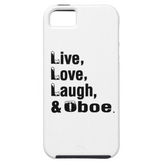 Live Love Laugh And Oboe iPhone 5 Covers