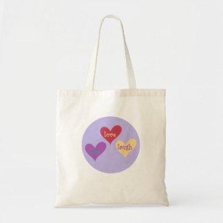 live love laugh carry bag