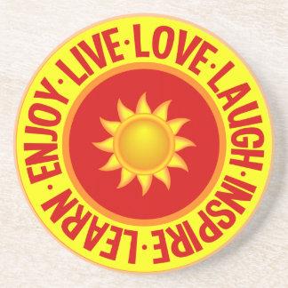 LIVE LOVE LAUGH ... coaster