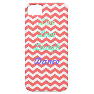 Live love LAUGH dance iPhone 5 Cover