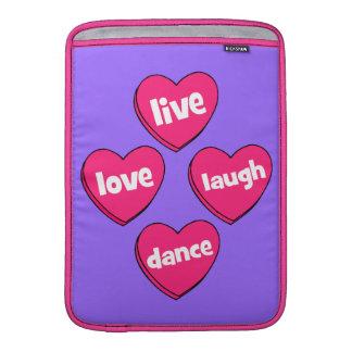 live love laugh dance MacBook air sleeve