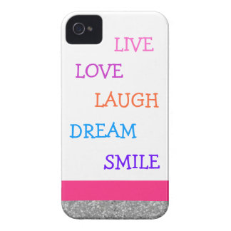 Live love laugh dream smile Case-Mate iPhone 4 case
