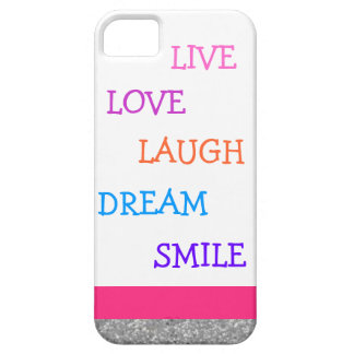 Live love laugh dream smile iPhone SE/5/5s case