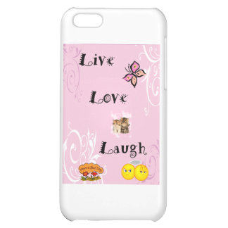 Live Love Laugh iPhone 5C Cover