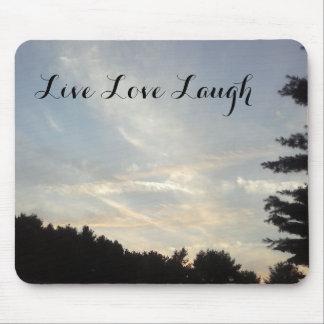live love laugh mouse pad