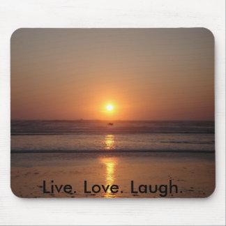 Live. Love. Laugh. Mouse Pad