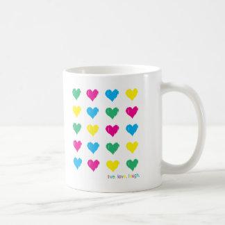 Live. Love. Laugh. Classic White Coffee Mug