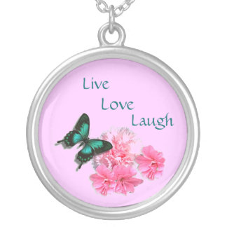 Live, Love, Laugh Necklace Pendants