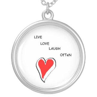 Live Love Laugh OfTeN - Neclace Necklaces