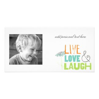 live love laugh photocards photo card