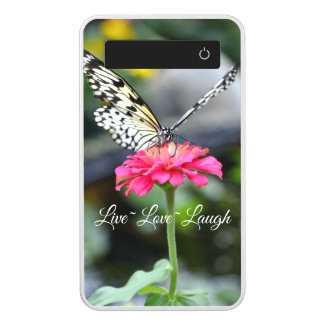 Live Love Laugh Power Bank/Paperkite Butterfly Power Bank