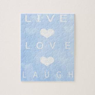 Live Love Laugh Puzzle