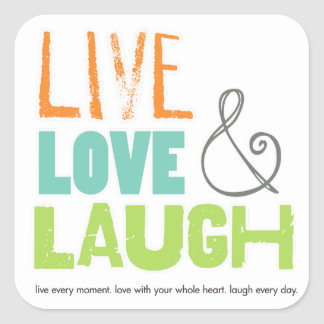 live love laugh stickers