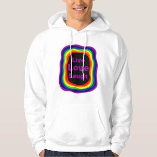 Live, Love, Laugh T-shirts (3) Large Purple
